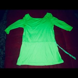 Cute green Top